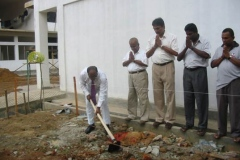 Construction of a New Shrine Room (Budu Medura) for Upper School